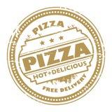 Bollo della pizza Fotografie Stock Libere da Diritti