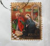 Bollo della Polonia Fotografia Stock Libera da Diritti