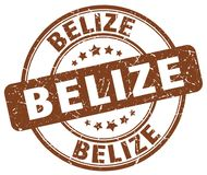 Bollo di Belize Royalty Illustrazione gratis