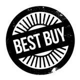 Bollo di Best Buy Fotografia Stock Libera da Diritti