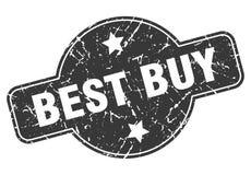 Bollo di Best Buy illustrazione vettoriale