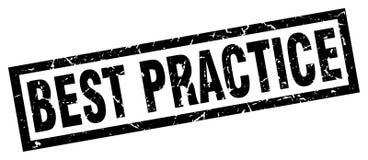 Bollo di best practice Fotografie Stock