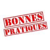 Bollo di best practice in francese Illustrazione di Stock