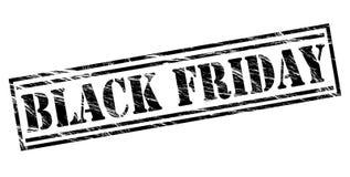 Bollo di Black Friday Fotografia Stock