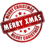 Bollo di Buon Natale illustrazione vettoriale