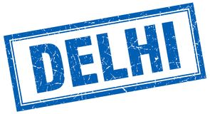 Bollo di Delhi royalty illustrazione gratis