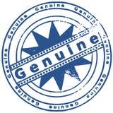 Bollo di Grunge GENUINO Fotografia Stock Libera da Diritti