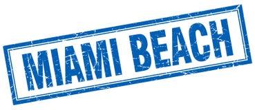 Bollo di Miami Beach Illustrazione Vettoriale
