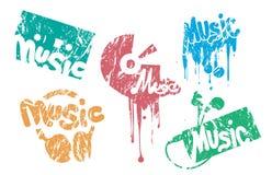 Bollo di musica Immagine Stock Libera da Diritti