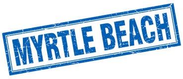 Bollo di Myrtle Beach Royalty Illustrazione gratis