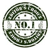 Bollo di no. 1 Fotografie Stock