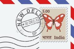 Bollo di Nuova Delhi illustrazione vettoriale