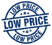 Bollo di prezzo basso illustrazione di stock