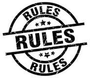 Bollo di regole Immagini Stock Libere da Diritti