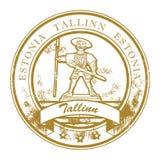 Bollo di Tallinn, Estonia illustrazione di stock
