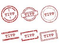 Bollo di Tipp Immagine Stock Libera da Diritti