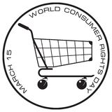 Bollo di tutela dei consumatori Immagini Stock