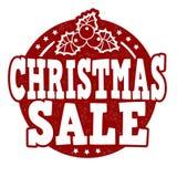 Bollo di vendita di Natale Fotografia Stock