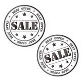 Bollo di vendita Immagine di vettore Immagine Stock