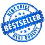 Bollo di vettore del bestseller Immagini Stock Libere da Diritti