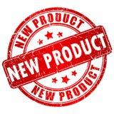 Bollo di vettore del nuovo prodotto Immagini Stock Libere da Diritti