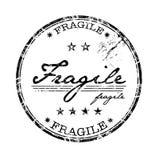 Bollo fragile Immagini Stock
