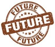 bollo marrone futuro illustrazione vettoriale