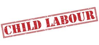 Bollo rosso del lavoro infantile illustrazione di stock