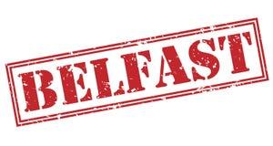 Bollo rosso di Belfast Immagine Stock Libera da Diritti