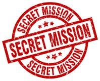 Bollo segreto di missione royalty illustrazione gratis