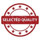 Bollo selezionato di qualità Fotografia Stock