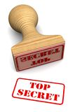 Bollo top-secret Fotografia Stock