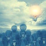 bolloon do vidro 3d Imagem de Stock