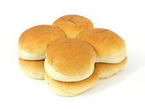 Bollos de hamburguesa Imagen de archivo libre de regalías