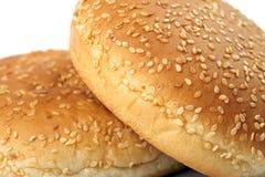 Bollos de la hamburguesa fotos de archivo libres de regalías