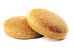 Bollos de la hamburguesa foto de archivo libre de regalías
