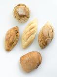 Bollos del pan Imagen de archivo libre de regalías