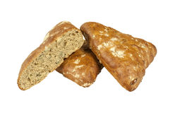 Bollos del trigo integral Foto de archivo libre de regalías