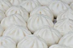 Bollos rellenos Goubuli de Tianjin imagen de archivo