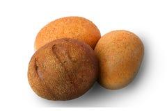 Bollos sanos del pan con los gérmenes Imagenes de archivo