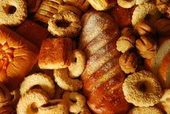 Bollos y galletas Imagen de archivo