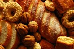 Bollos y galletas Imagenes de archivo