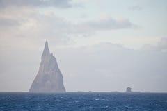 Bollpyramid Lord Howe Ö australasian Arkivbilder