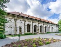 Bollspel Hall på den Prague slotten Royaltyfri Fotografi