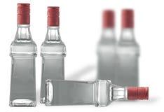 Bolltes of vodka Royalty Free Stock Photos