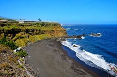 Bollullo Beach in Tenerife, Canary Islands, Spain Royalty Free Stock Photography