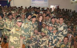Bollywood actress Kangna Ranaut Royalty Free Stock Photos