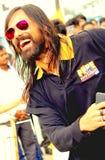 Bollywood choreograf Feroz Khan Fotografia Stock