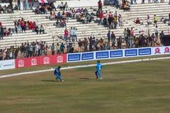 Bollywood Cricket 13 Royalty Free Stock Photo