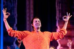 Bollywood kommt nach Barcelona mit dem Musical an Lizenzfreies Stockfoto